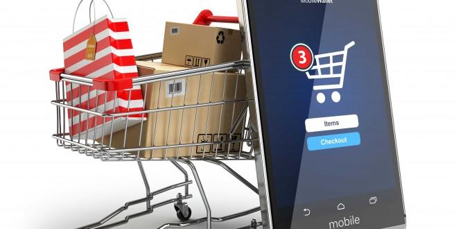 İnternetten alışveriş mobilde fark atıyor