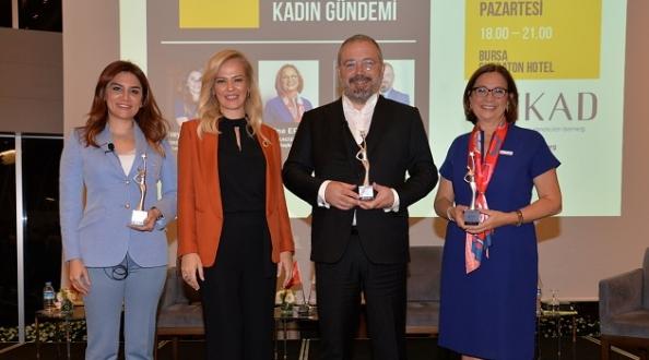 Kadının 2020'deki gündemi Bursa'da konuşuldu