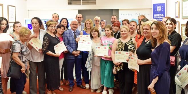 Karadağ'da sertifika heyecanı