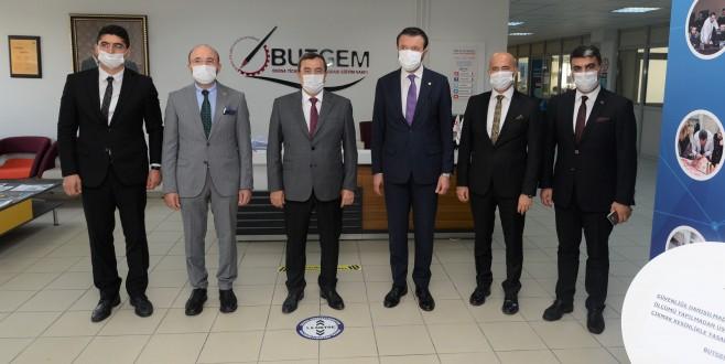 Konak Belediye Başkanı Abdül Batur BUTGEM'i İnceledi