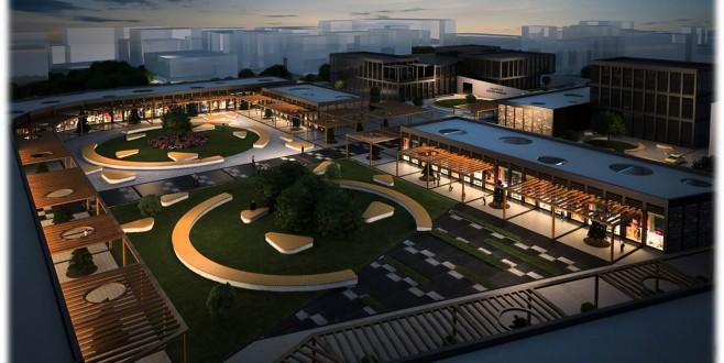 Kültür merkezinde inşaat hızlandı