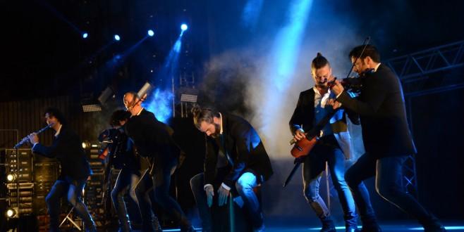 'Los Vivancos' coşkusu Bursa'yı sardı
