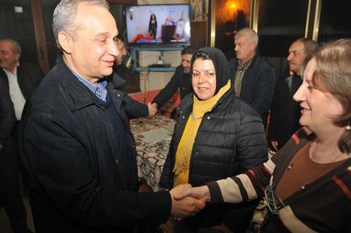 M.K.Paşa'nın köylerinde Erdem'e yoğun ilgi