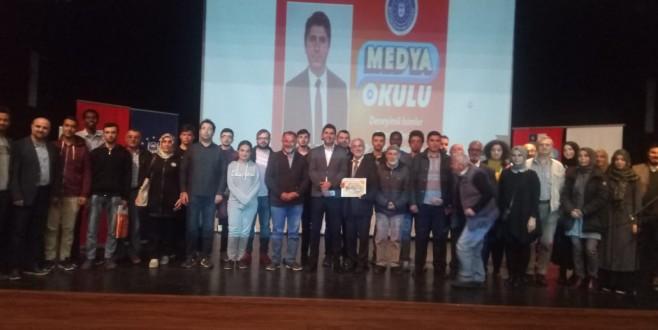 Medya Okulu'nun konuğu; Ali Artmaz