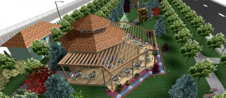 Mevlana parkı sosyal hayata renk katacak