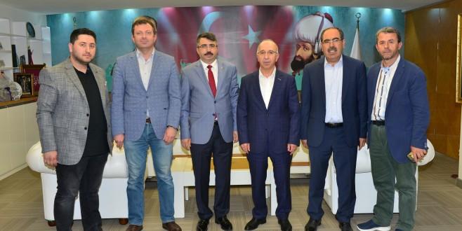 MÜSİAD Bursa'dan Başkan Yılmaz'a ziyaret