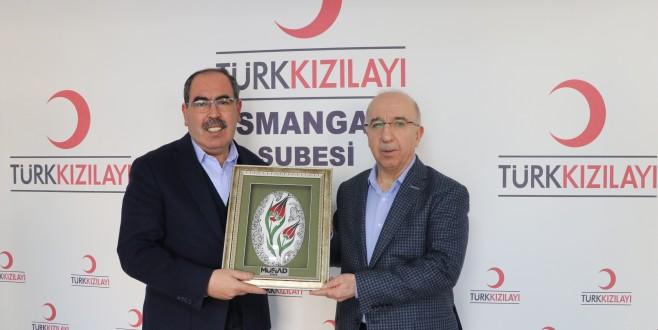 MÜSİAD Bursa'dan Kızılay Osmangazi'ye Ziyaret…