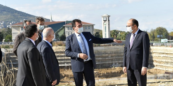 MÜSİAD'dan Osmangazi Meydanı'na Ziyaret