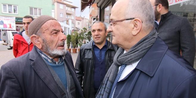 Necati Şahin'e Nilüfer'de büyük ilgi