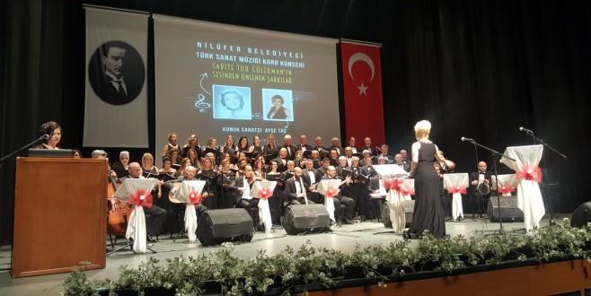 Nilüfer'de anlamlı konser