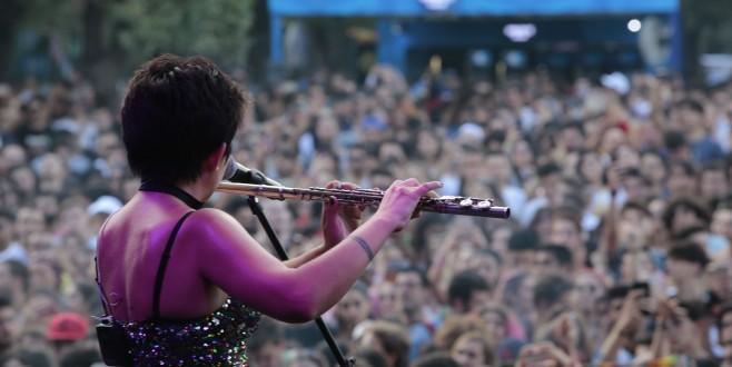 Nilüfer Müzik Festivali, doğa ve müziğe doyurdu
