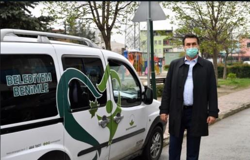 """Osmangazi'de Salgına Karşı """"Paylaşım"""" Kalkanı"""