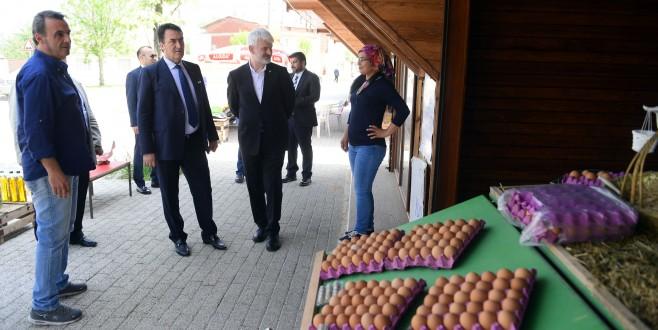 Osmangazi'de Üretici İle Tüketiciyi Buluşturan Proje