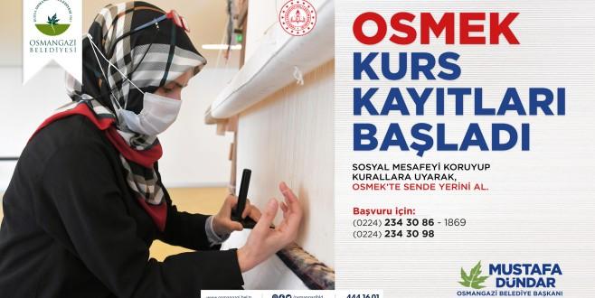 OSMEK'te Yeni Dönem Kayıtları Başladı