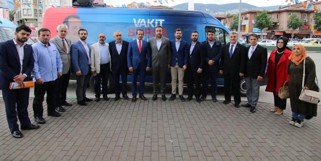 """Refik Özen: """"Seçimlerin Kaderini Osmangazi Belirleyecek."""""""