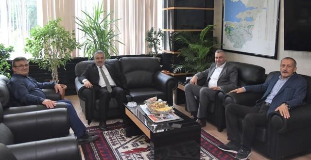 Salman'dan Bursa'daki kamu kurumlarına ziyaret turu