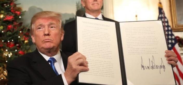 Son dakika: Trump, Kudüs kararını resmen açıkladı!