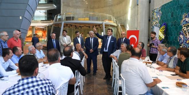 Taksicilerin 'Panorama 1326' durağı
