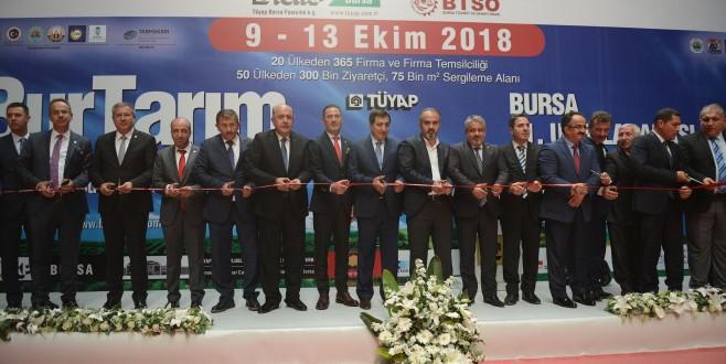 Tarım sektörünün kalbi Bursa'da atıyor