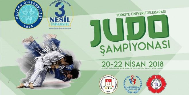 Türkiye Judo Şampiyonası Uludağ Üniversitesi'nde başlıyor