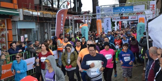 Türkiye'nin En Büyük Maratonu İznik Ultra Sona Erdi