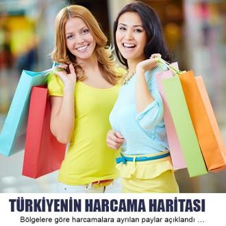 Türkiye'nin harcama haritası