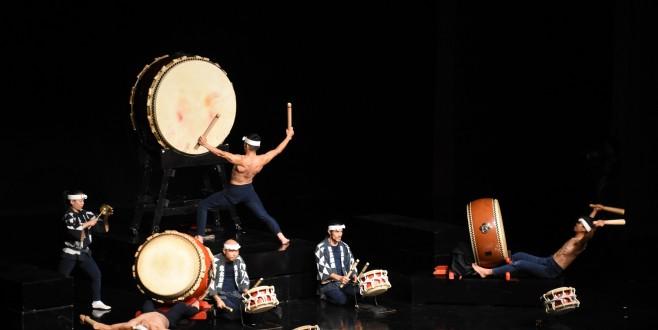 Ünlü Japon davul grubundan Bursa'da unutulmaz gösteri
